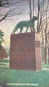 Catamount Monument